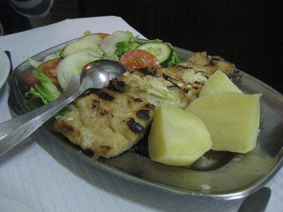 Restaurante Tronco: baccalà