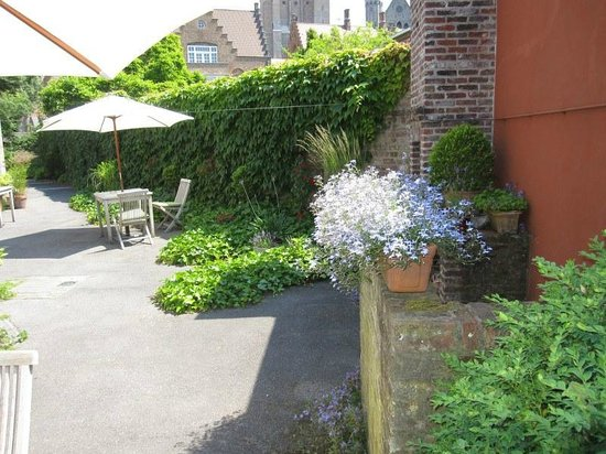 بونوبو أبارت هوتل: Terrace