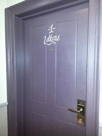 The Crown & Thistle: Door to the room