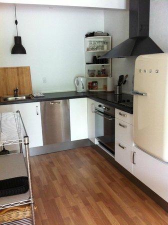 Bolding Apartments: Køkken stalden 1