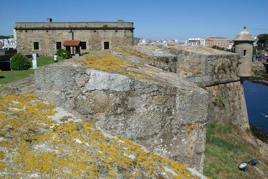 A Coruña, España: Castillo