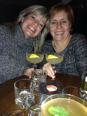 Monteiths: French 75 (they wore the same sweater- so why not the same drink?)