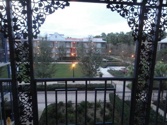 Disney's Port Orleans Resort - French Quarter: View from room