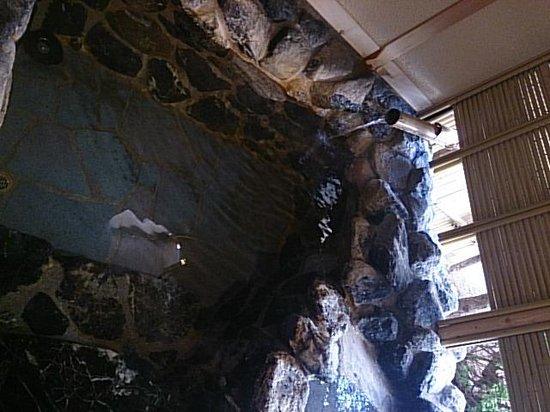 Hanabishi Hotel: 露天風呂