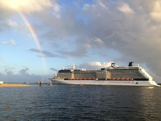 Tropical Sailing: Celebrity Silhouette departing Ft. Lauderdale Feb. 2, 2014
