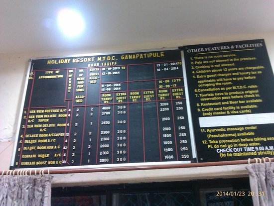 Ganpatipule Sansthan Rooms Booking