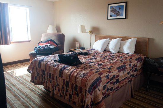 Super 8 Las Cruces/White Sands Area : king bed