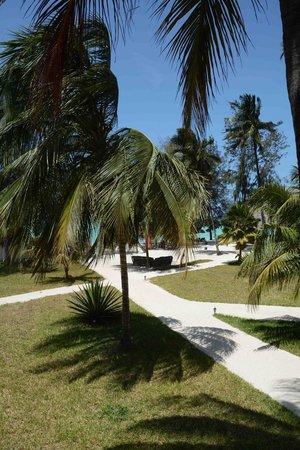 Smiles Beach Hotel: Garden & beach