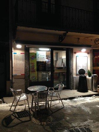Pizzeria des Moulins : Exterior