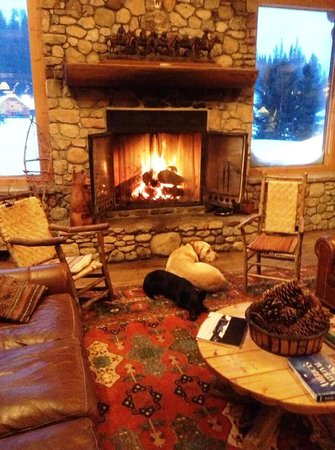 Brooks Lake Lodge and Spa: A Great Place for Reading Your Favorite Book or Just Relaxing