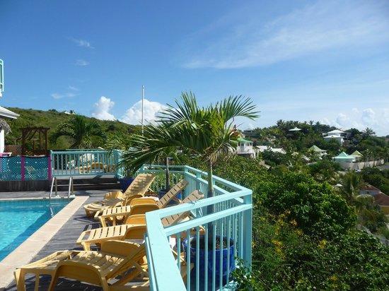 Villa Najro - Caraibes Evasion: vue de la terrasse