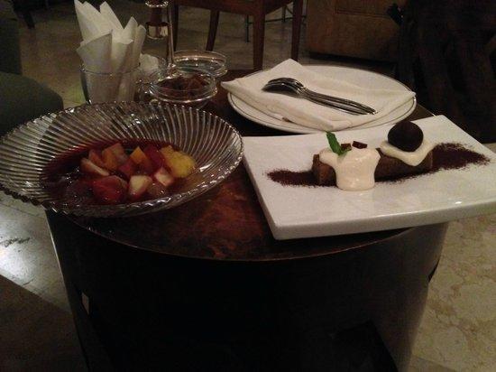 Villa Oniria: Fantastic desserts