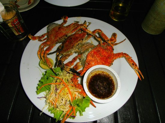Maya Koh Lanta Resort: Great food
