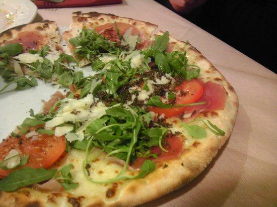 Pizzeria Grand Prix Motor Pub: Crostone + tartufo