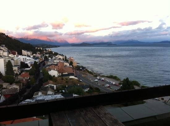 Penthouse 1004: sunset from balcony