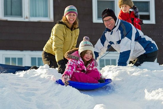 The Mountain Top Inn & Resort : Winter family fun