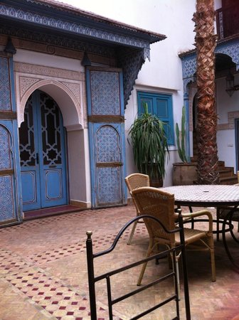 Riad Slitine: Gezellige zitruimte