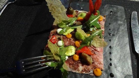 Grande Roche Hotel: set meal