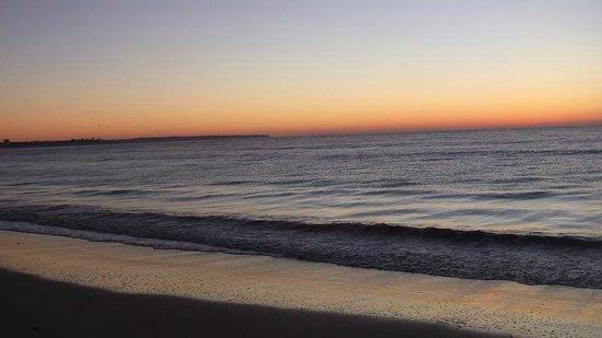 Sunrise at  Meia Praia