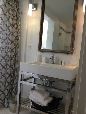 Black Dolphin Inn : Bathroom in Suite