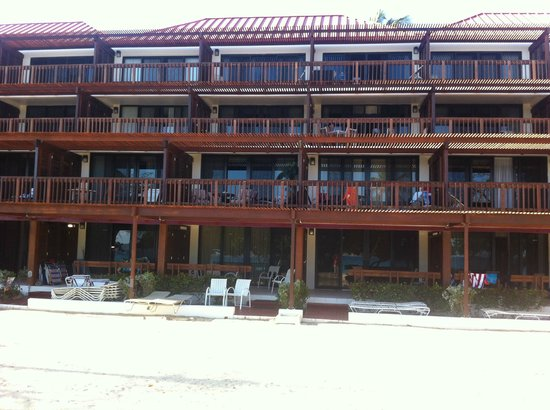Sapphire Beach Resort: view of Block A condo - recently renovated
