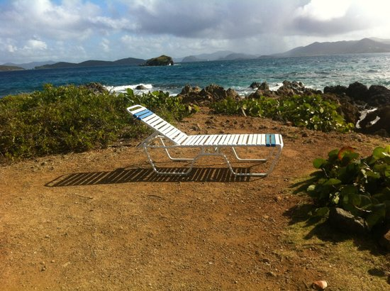 Sapphire Beach Resort: My chair with a view