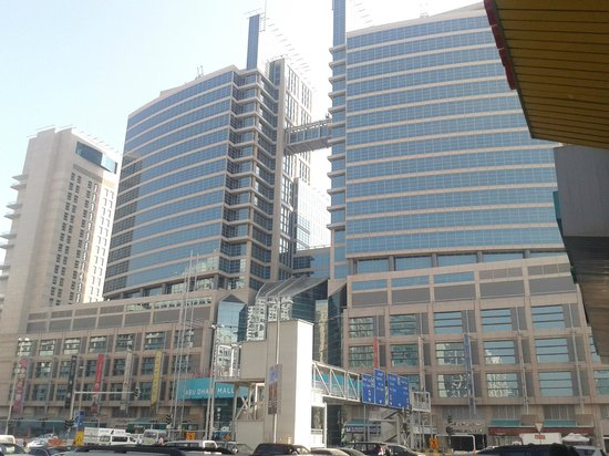 Abu Dhabi Mall: Vista externa