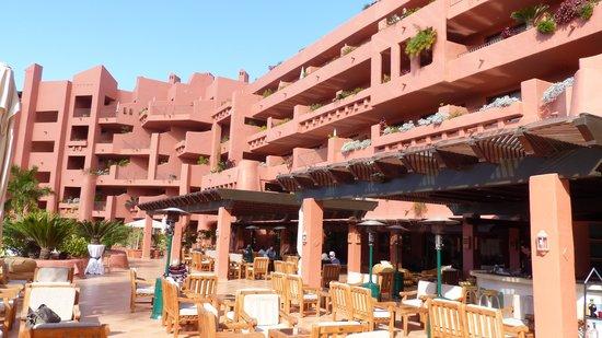Sheraton La Caleta Resort & Spa, Costa Adeje, Tenerife: Hotelanlage