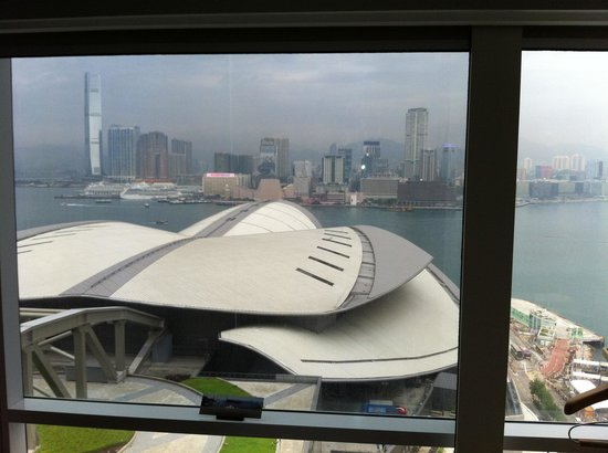 Renaissance Hong Kong Harbour View Hotel : Vue depuis notre chambre