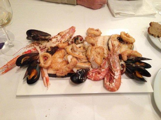Restaurante Navarro: Grigliata X 2