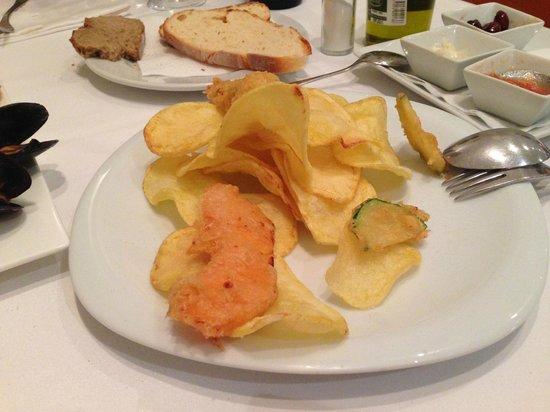 Restaurante Navarro: Patatine fritte artigianali