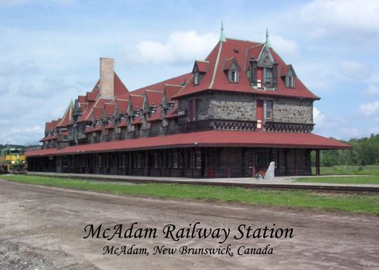 McAdam Railway Station : McAdam Station