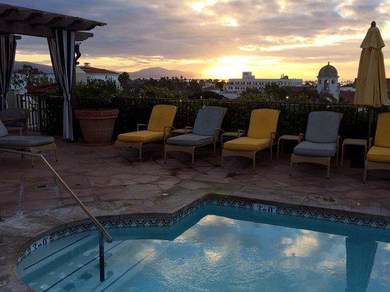 Kimpton Canary Hotel: Sunrise