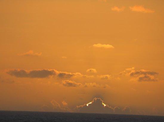 Ocean Landings Resort and Racquet Club: great sunsets