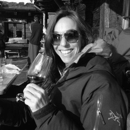 La Marmotte : On the terrace...