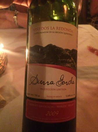 Mark's Bar and Grill : Mexican Red Wine