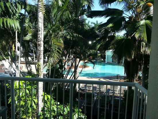 QT Port Douglas: view from balcony