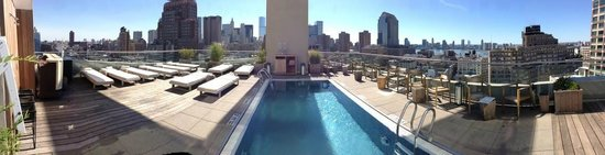 The James New York: terrasse