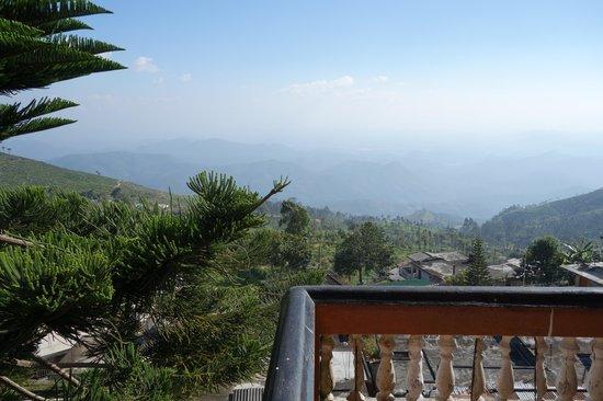 Srilak View Holiday Inn : View from the balcony/veranda