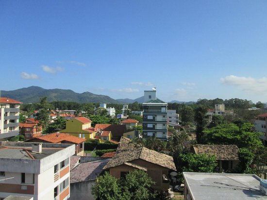 Hotel Canasvieiras Internacional - Florianopolis: the view from our room on the 4th floor