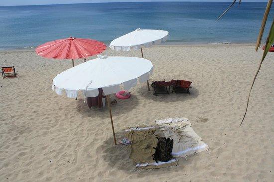 Baan Pakgasri Hideaway : la plage