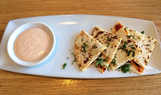 Chicken quesadilla. - Picture of California Pizza Kitchen, Pasadena ...
