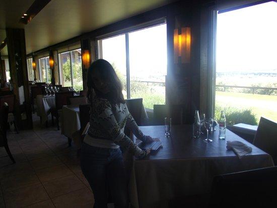 Alto Calafate Hotel Patagonico: Para comer com esta vista é preciso reservar antes.