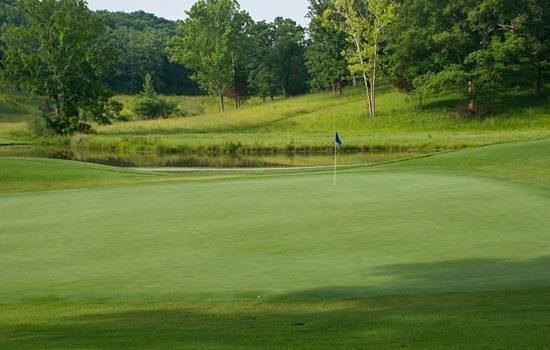 Bear Creek Valley Golf Club: 17th Green