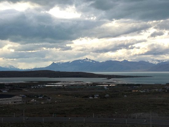 Alto Calafate Hotel Patagonico: Uma das vistas do quarto.