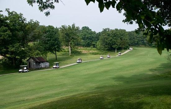Bear Creek Valley Golf Club: 18th Fairway