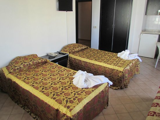 Gold Twins Suit Hotel: Room