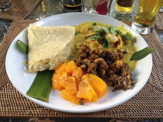 Island Plates: Shrimp Roti