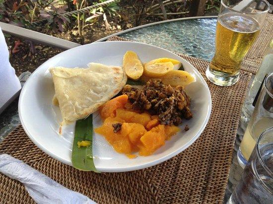 Island Plates: Plantain Roti