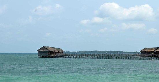 Bintan Laguna Restaurant and Resort : View from beach